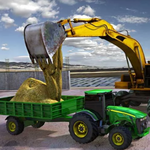 Tractor Sand Transporter Mania icon
