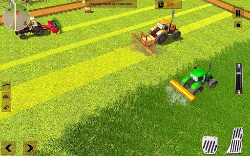 Real Tractor Farming Simulator 2018 APK screenshot 1