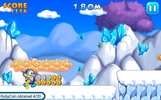Snow Bros Runner APK screenshot 1