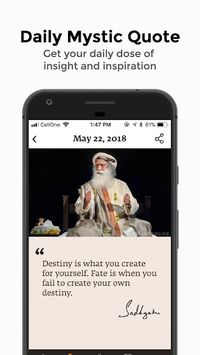 Sadhguru - Yoga, Meditation & Spirituality APK screenshot 1