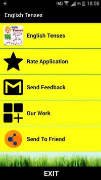 English Tenses  in Urdu APK screenshot 1