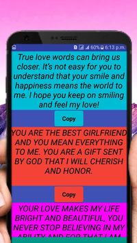 Heart Touching Love SmS APK screenshot 1
