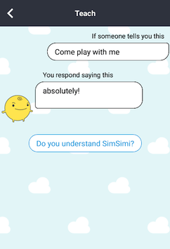 SimSimi pc screenshot 2
