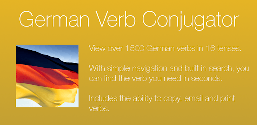 German Verb Conjugator pc screenshot