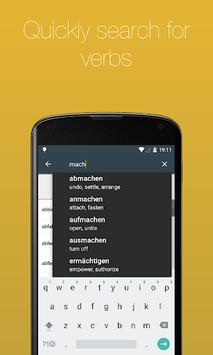 German Verb Conjugator APK screenshot 1