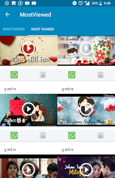 तू जाने ना- status, shayari, DP, video status,meme APK screenshot 1