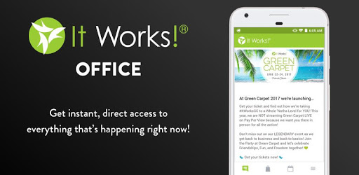 It Works! Office pc screenshot