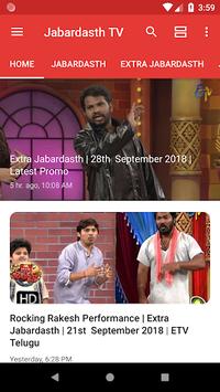 Jabardasth TV - No.1 Telugu Comedy Show APK screenshot 1