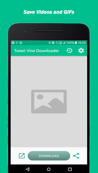 Tweet Vine Downloader (Twitter Video Downloader) APK screenshot 1