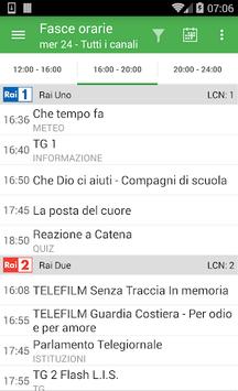 TV Guide Italy FREE APK screenshot 1