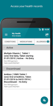 FollowMyHealth® APK screenshot 1