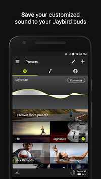 Jaybird MySound APK screenshot 1