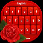 Red Rose Keyboard icon