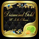 GO SMS DIAMOND GOLD THEME for pc icon