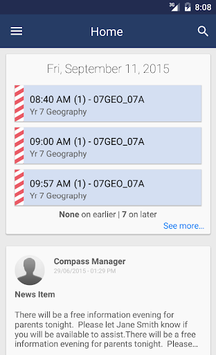 Compass School Manager APK screenshot 1