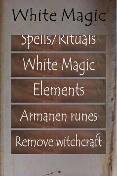 White Magic spells and rituals APK screenshot 1