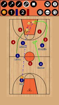 Basketball Tactic Board APK screenshot 1