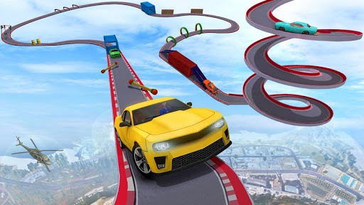 Crazy Car Stunt Driving Games - New Car Games 2021 APK screenshot 1