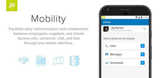 Jive Mobile pc screenshot