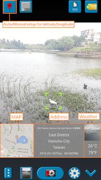 GPS Map Camera APK screenshot 1