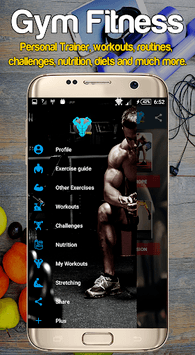 Gym Fitness & Workout : Personal trainer APK screenshot 1