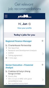 jobsDB Job Search APK screenshot 1