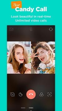 Candy Camera - selfie, beauty camera, photo editor APK screenshot 1