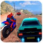 Spiderman Car Vs Bike Race Ultimate APK icon