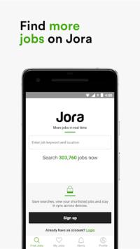 Jora Jobs - Job Search, Vacancies & Employment APK screenshot 1