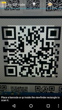 Joycode - QR code Scanner Read APK screenshot 1