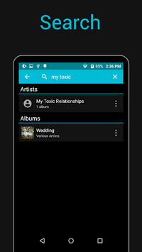 Rocket Music Player APK screenshot 1