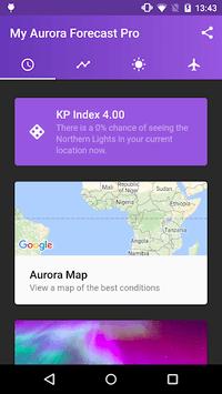 My Aurora Forecast - Aurora Alerts Northern Lights APK screenshot 1