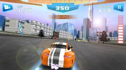 Fast Racing 3D APK screenshot 1
