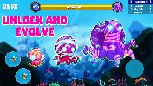 Eatme.io: Hungry fish fun game screenshot 1