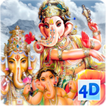 4D Ganesh Live Wallpaper icon