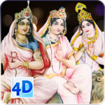 4D Nava Durga (शक्ति के नौ रूप ) Live Wallpaper icon