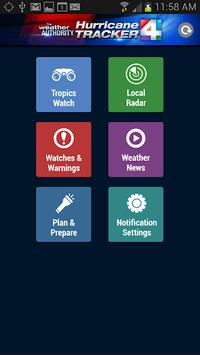 WJXT - Hurricane Tracker APK screenshot 1