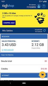 Tigo Shop El Salvador APK screenshot 1