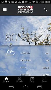 KAIT Region 8 Weather APK screenshot 1