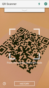 QR Code Reader and Scanner: App for Android APK screenshot 1