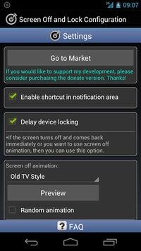 Screen Off and Lock APK screenshot 1