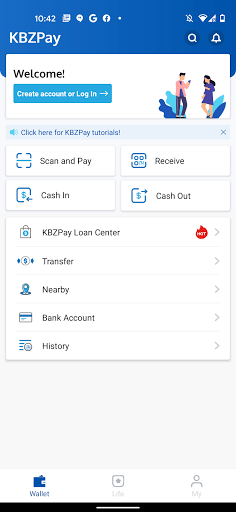KBZPay APK screenshot 1