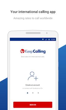 KeepCalling – Best Calling App APK screenshot 1