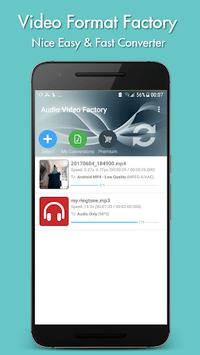 Video Format Factory APK screenshot 1