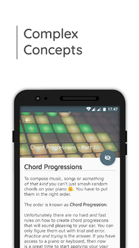 Music Theory with Piano Tools APK screenshot 1