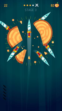 Knife Hit APK screenshot 1