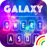 Color Keyboard Galaxy Theme FOR PC