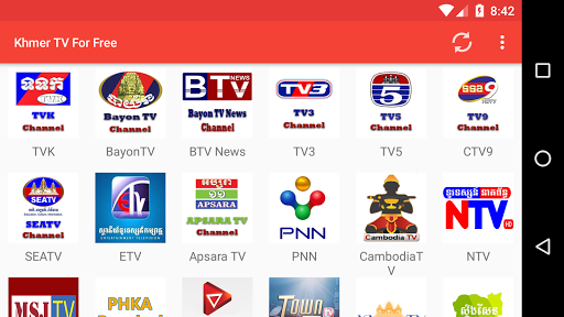 Khmer TV For Free APK screenshot 1
