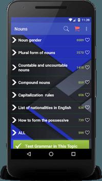 English Grammar APK screenshot 1