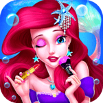 Mermaid Princess Makeup - Girl Fashion Salon APK icon